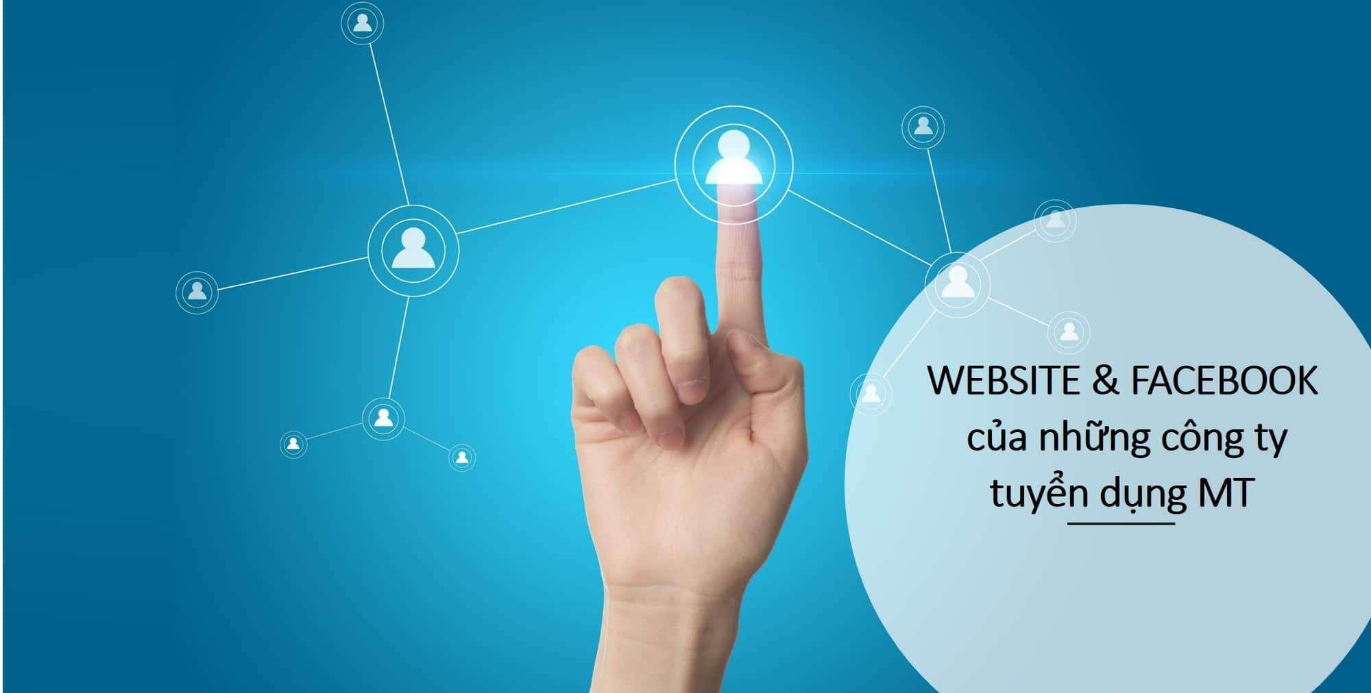 Quản trị viên tập sự - Facebook và website của các công ty có tuyển dụng Management Trainee