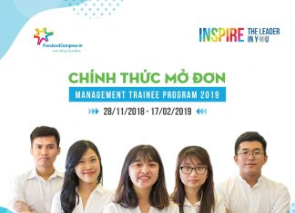 Management Trainee 2019 FrieslandCampina Việt Nam