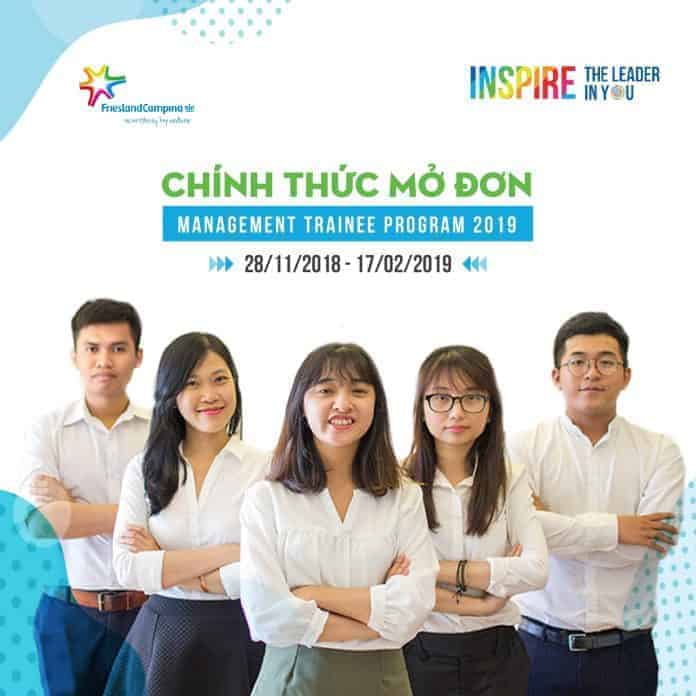 Management Trainee 2019 FrieslandCampina Việt Nam