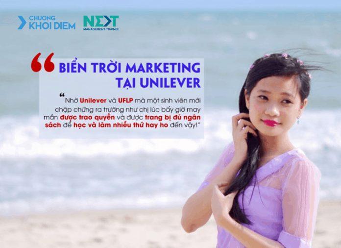 chuong khoi diem next management trainee bien troi marketing tai unilever