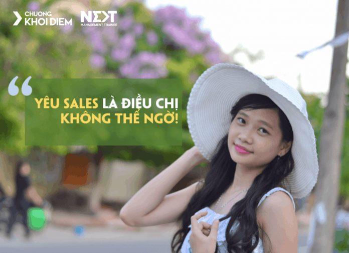 chuong khoi diem next management trainee yeu sales la dieu chi khong the ngo