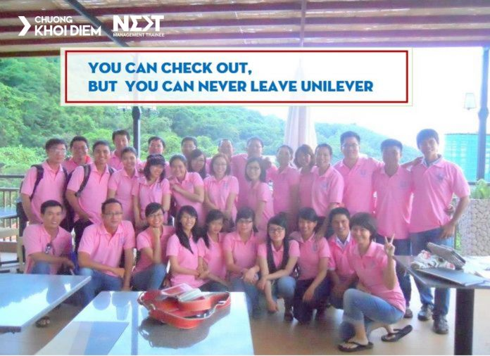 chuong khoi diem next management trainee you can check out but you can never leave unilever