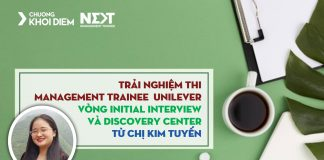 chuong khoi diem next management trainee unilever initial interview va discovery center 4