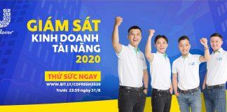 Giám Sát Kinh Doanh Tài Năng (CDFRESH) Unilever CD Fresh 2020