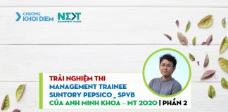 chuong khoi diem next management trainee generali management trainee pepsi minh khoa p2