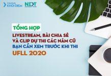 Chuong khoi diem next management trainee Tổng hợp các bài viết, clip và livestream bận cần xem trước khi thi UFLL 2020