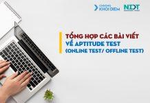chuong khoi diem next management trainee Tổng hợp các bài viết về vòng Aptitude Test - Online Test Offline Test