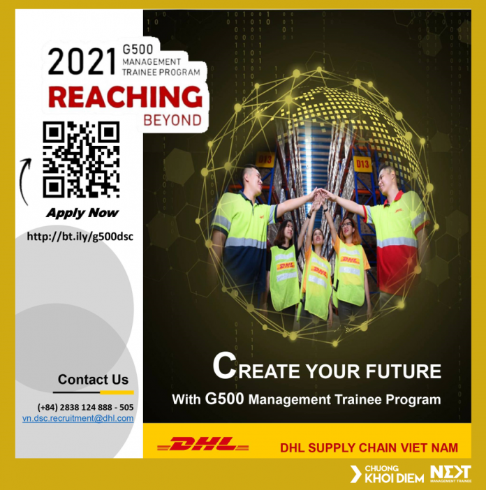 DHL Supply Chain G500 Management Trainee Program 2021
