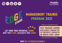 Mondelez Edge Stars - Management Trainee Program 2021
