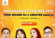 Digiworld Management Trainee Program 2021