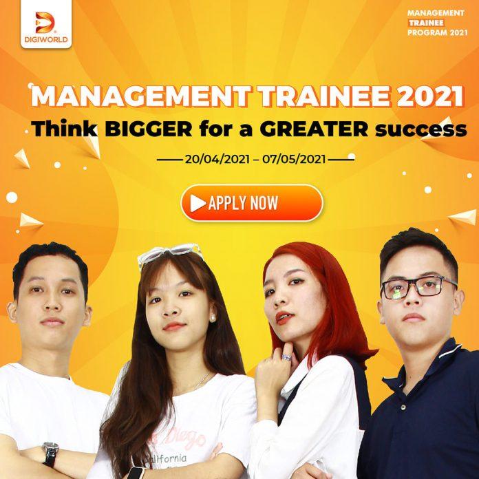 Digiworld Management Trainee Program 2021