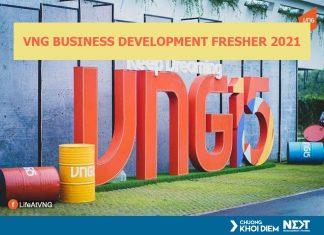VNG Business development fresher 2021