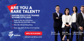 Jardine Executive Trainee Schemes (JETS) 2022